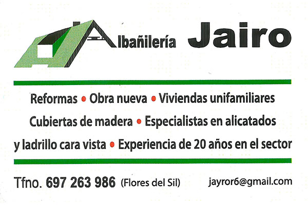 Albañilería Jairo