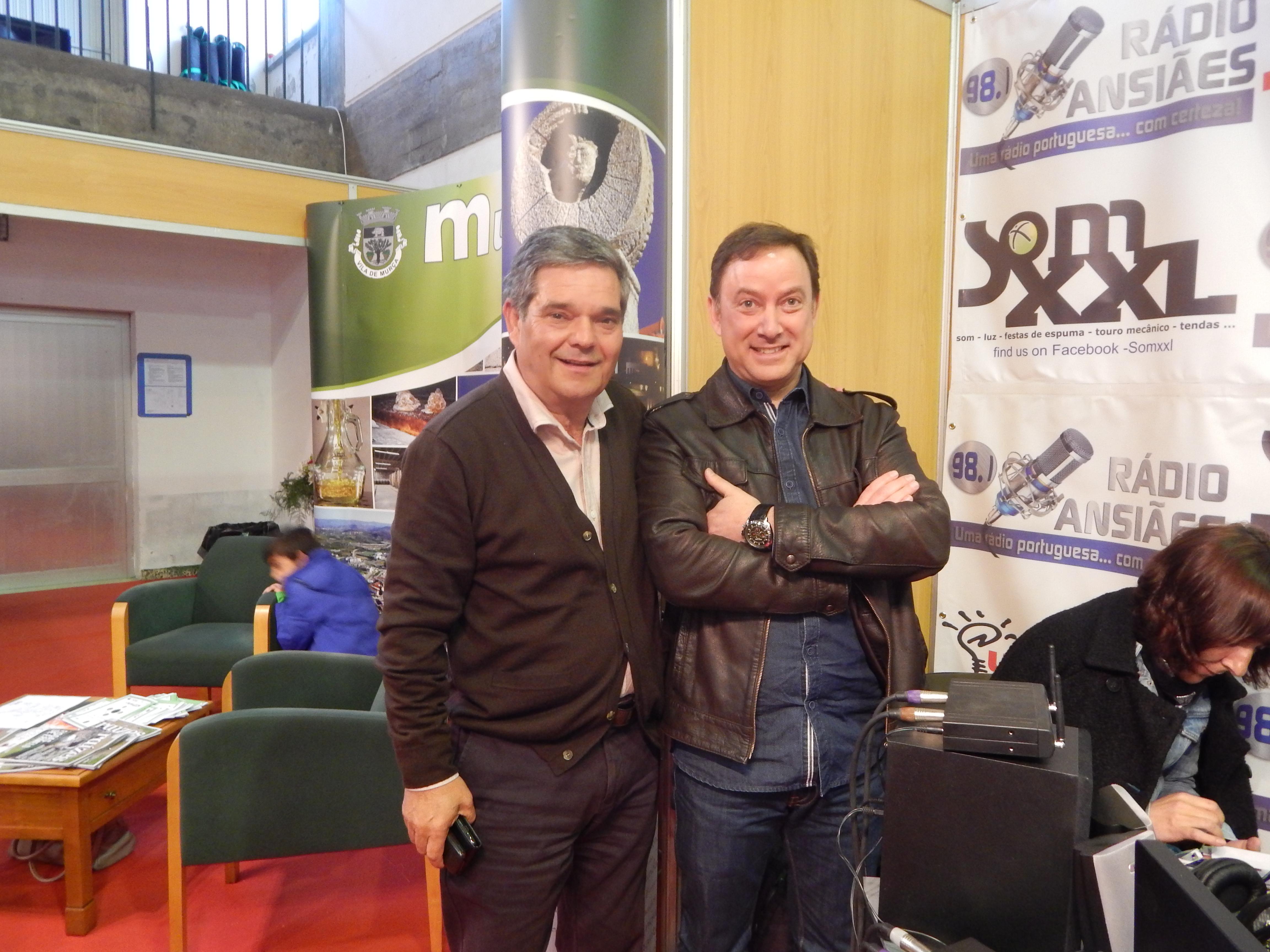 Rádio Ansiães. Excelente cobertura radiofónica minuto a minuto y con protagonistas como el Vice-Presidente de la Cámara Municipal de Murça