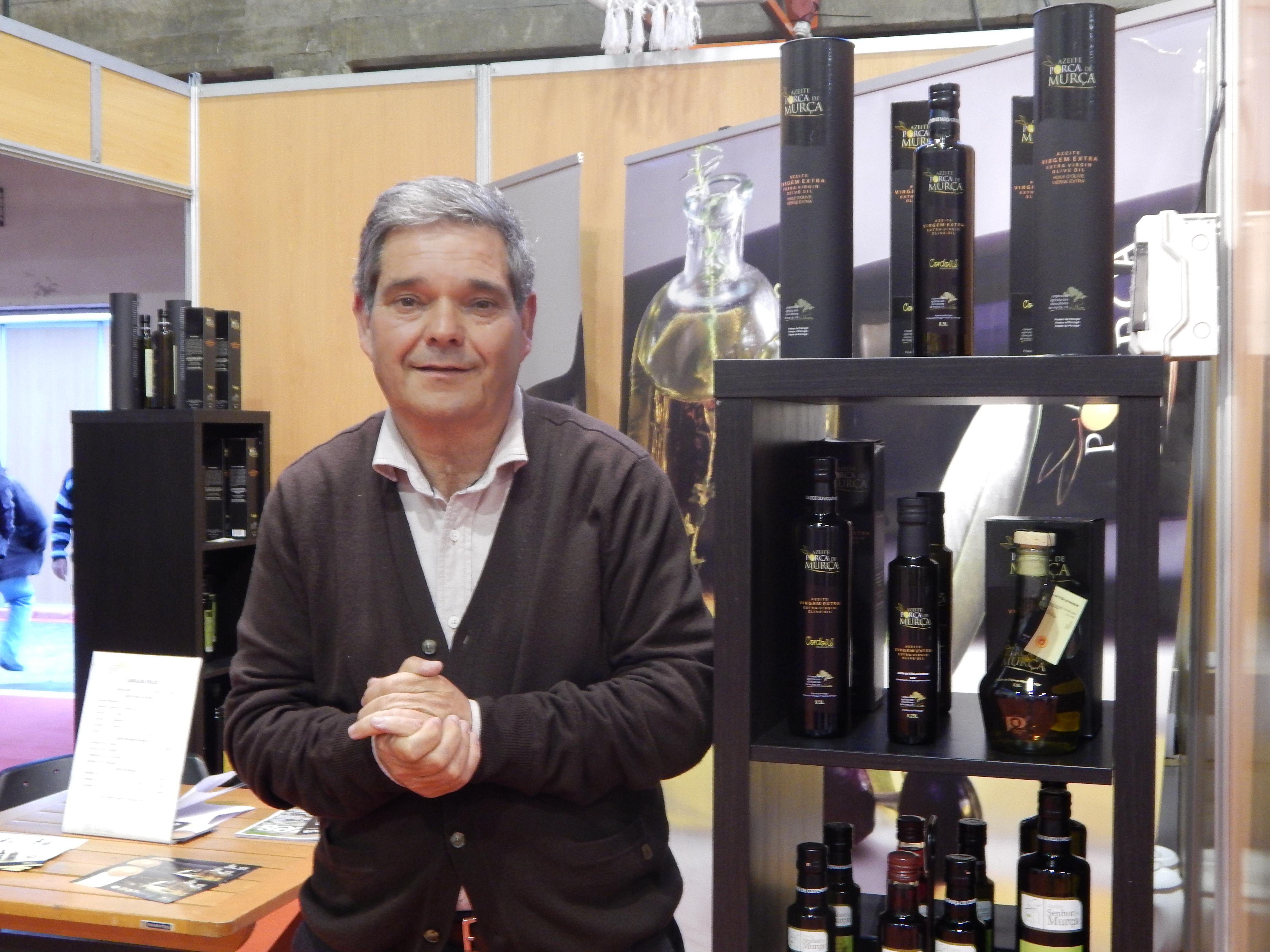 Raul Antonio Ribeiro Luis, Vice-Presidente de la Cámara Municipal de Murça, gran anfitrión durante toda la Feira