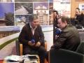 Rádio Ansiães. Producida y realizada desde la Feira contó con la opinión de visitantes y autoridades