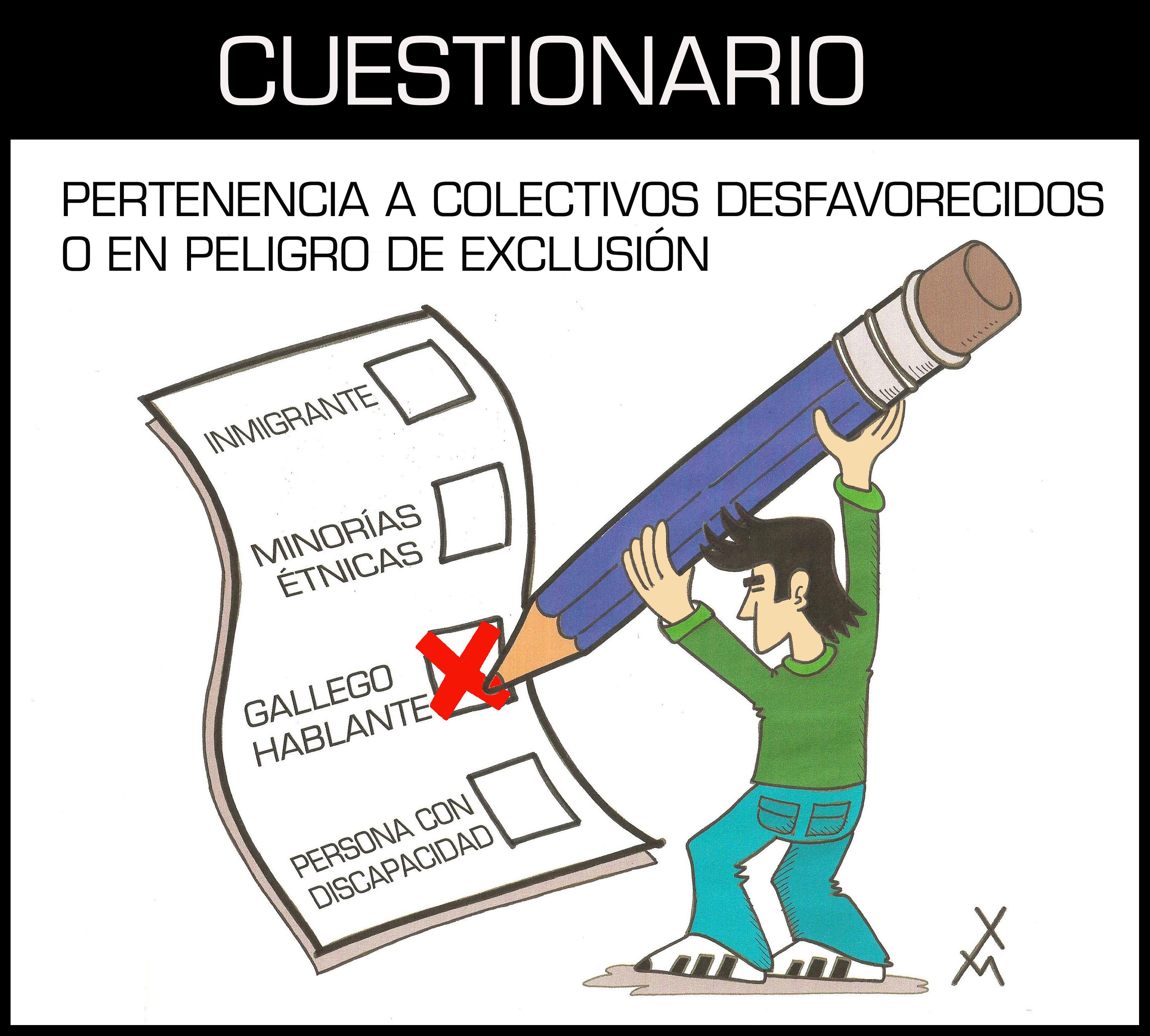 CUESTIONARIO GALEGO