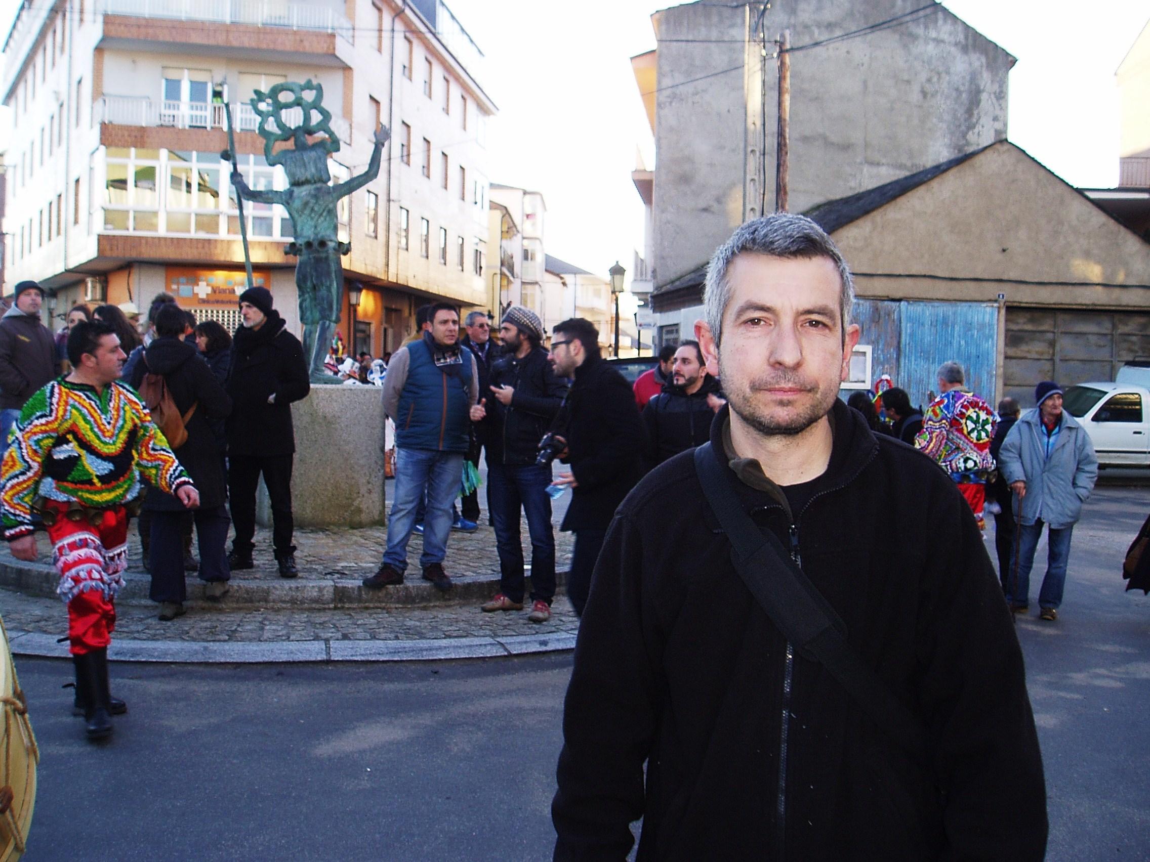 Jorge Minas, coordinador del desfile en Viana