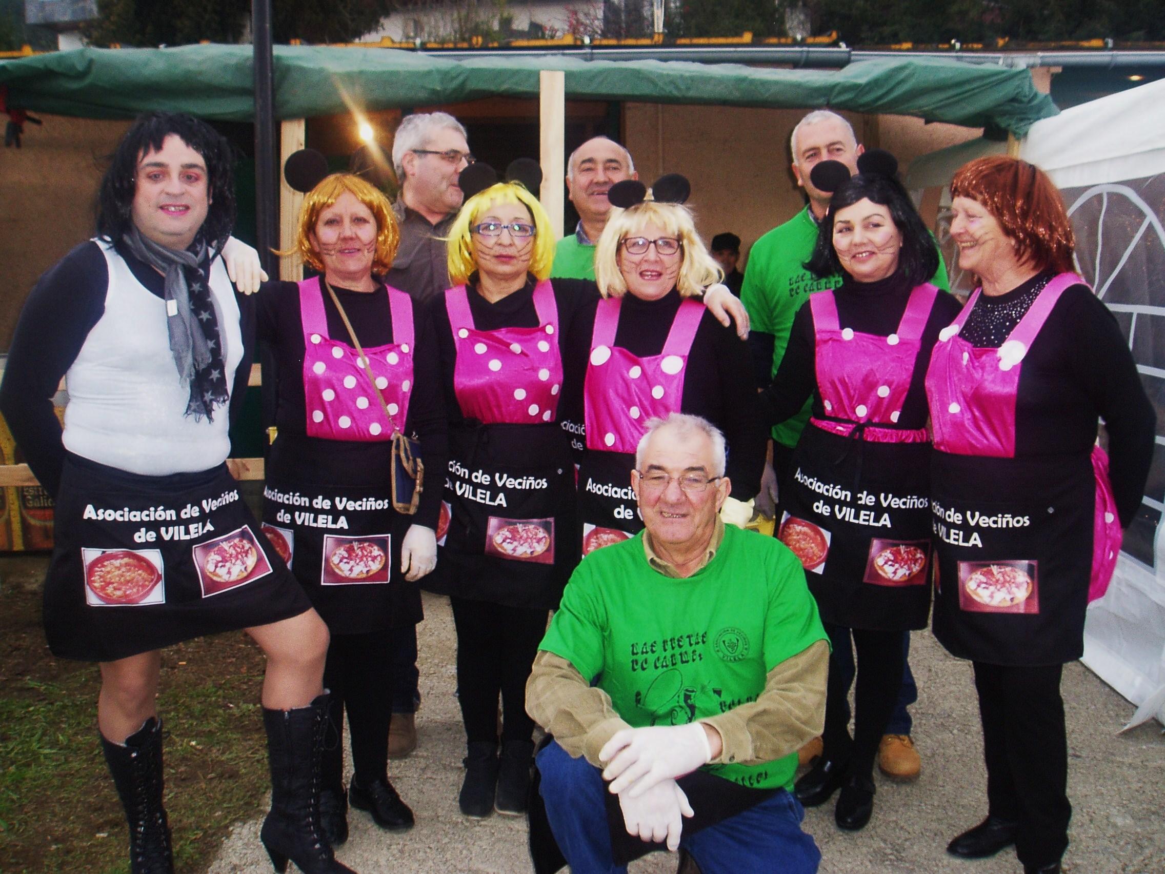 La comisión organizadora de la Festa dos Callos