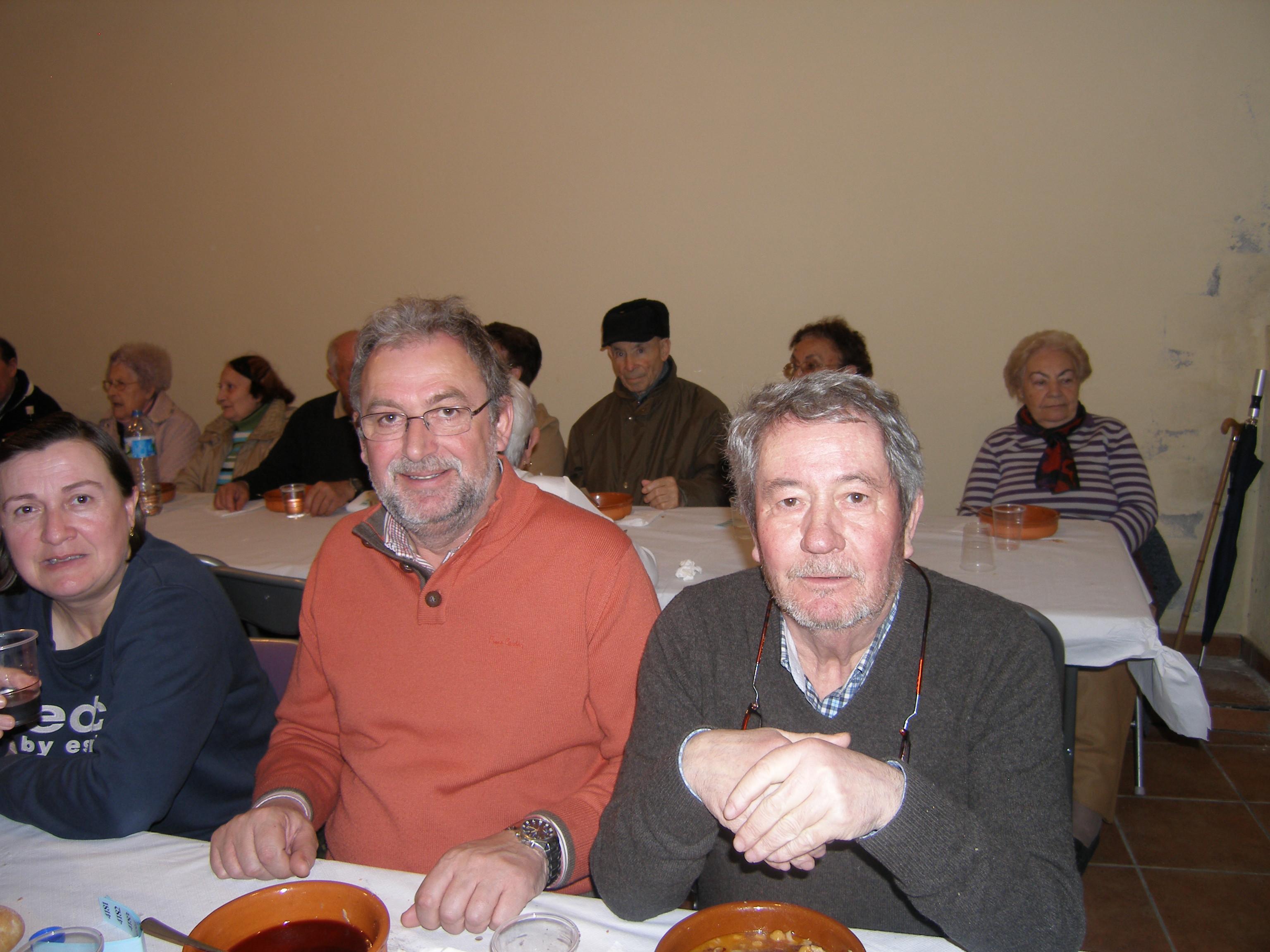 Luis Fernández Gudiña y Carlos Artistegui Diéguez, del grupo de gobierno