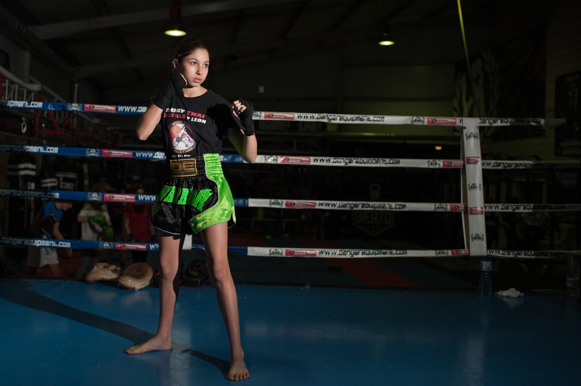 una ni a de 12 a os en el mundial de muay thai noticias