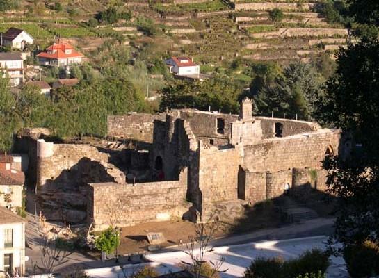 Castillo de los Condes Sarmiento de Ribadavia
