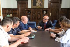 Unións Agrarias y la Diputación de Ourense abordan el impacto de las heladas en los viñedos