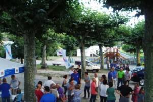El BNG de Valdeorras celebra el Día da Patria en A Rúa con la actuación de Jasper