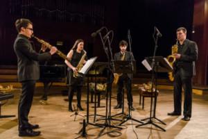 Corteza de Encina: cuarteto internacional de saxofones con el ponferradino David Delgado