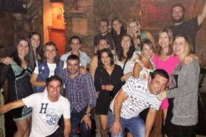 Reencuentro de compañeros de pupitre del 82 en Viana do Bolo