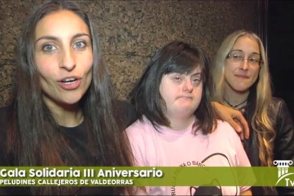 Gala Solidaria III Aniversario Peludines Callejeros de Valdeorras