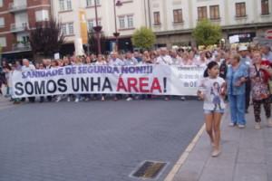 Valdeorras se prepara para una movilización contra la modificación de la Ley de Salud gallega