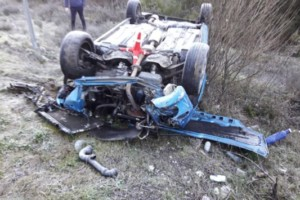 Un vecino de A Rúa Vella, herido en un accidente en Vilamartín