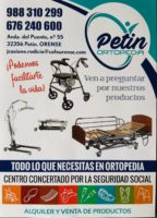 Ortopedia Petín. Javier Casiano Rodicio Rodríguez