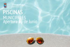 Arranca la 'temporada de piscina' en Camponaraya con puertas abiertas e hinchables
