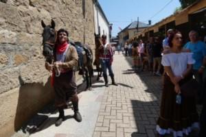 La Feria de 1812 llena de ambiente Petín