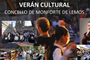 El Verano Cultural llena Monforte de actividades para todos los públicos