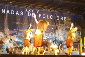 Trives, parada de la gira de las Jornadas de Folclore por la provincia de Ourense