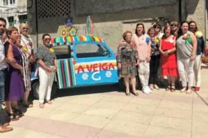 """""""Tecendo rúas…tecendo soños"""": homenaje a las mujeres de A Veiga"""