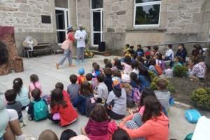 La representación teatral 'Chocolate' cautivó esta semana en Trives