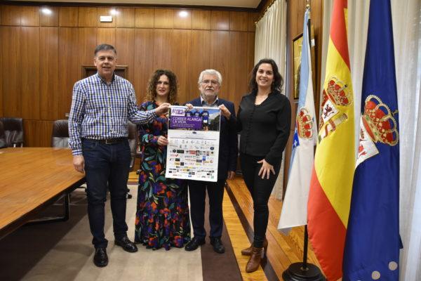 'Carrera de las Ciudades, 11 kilómetros solidarios para la investigación del cáncer de páncreas, en Vilamartín de Valdeorras presentada en la Diputación de Ourense