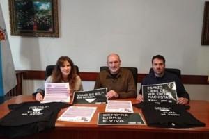 Viana en Negro, diversas actividades y actos para sensibilizar contra la lacra que es la violencia machista
