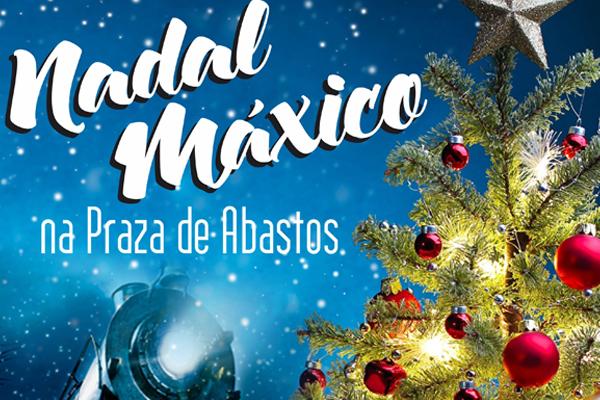 En la Plaza de Abastos de Monforte se vivirá un 'Nadal Máxico'