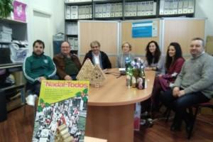 'Un Nadal de Todos' muestra la unión valdeorresa. Campaña conjunta de AEVA, CCA, C.R.D.O. Valdeorras y Asociación Ruta do Viño de Valdeorras