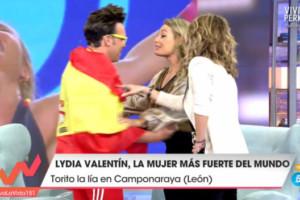 Lydia Valentín, se emociona con 'su esencia' en Viva la Vida