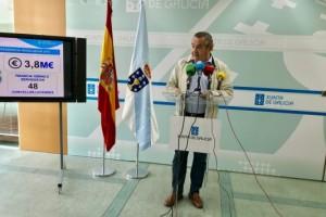 Aprobadas ayudas, por 3,8 M€, para realizar obras en más de medio centenar de ayuntamientos lucenses