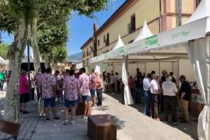Más de 8.400 copas de vino para un espectacular 'brindis de sensaciones' durante la XXII Feria del Vino de Valdeorras