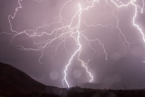 Alerta naranja por tormentas activada en las provincias de Lugo y Ourense
