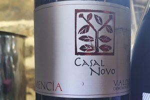 Cata del vino Casal Novo Mencía