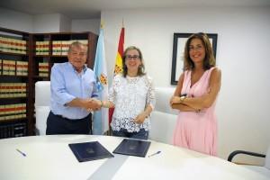 Convenio de colaboración para acondicionar la carretera entre Cambela y O Vao en O Bolo