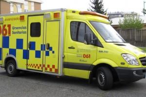 Atendidas, por el 061 de Galicia, 61 personas por 53 accidentes de circulación durante el fin de semana