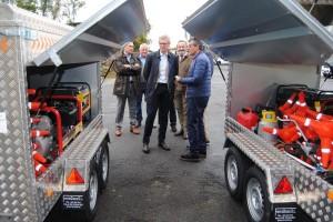 Mejora de la equipación de emergencias de Agrupaciones de Protección Civil de 10 ayuntamientos lucenses