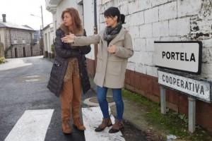 Obras de acondicionamiento y humanización de dos calles en Larouco