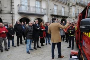 Tres nuevos vehículos para la atención de las emergencias para los GES de O Barco de Valdeorras, Ribadavia y Muiños