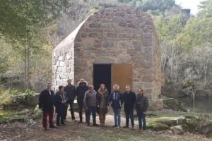 Puesta en valor y rehabilitación del conjunto de tres molinos emplazados en el entorno del santuario de As Ermidas