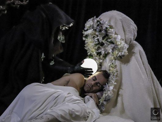 Entre soños: Monforte pone en escena la obra de baile y música de la Compañía Fran Sieira sobre la encrucijada entre sueños y miedos