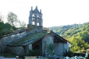 Cerca de 200.000 euros para las obras de restauración de la iglesia de San Martiño de Lousada en Samos