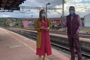 Sober demanda o restablecemento inmediato de todos os servizos de tren