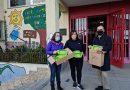 O Incio agasalla con alxibeiras personalizadas aos alumnos da localidade escolarizados no CEIP de Oural