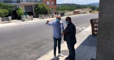 Mejora de las redes de saneamiento y drenaje del municipio de Maside