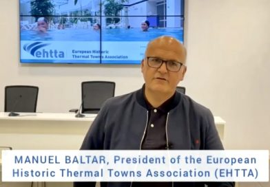"""""""El gran paso que significa para la promoción termal que las grandes ciudades balnearias sean patrimonio mundial de la Unesco»"""